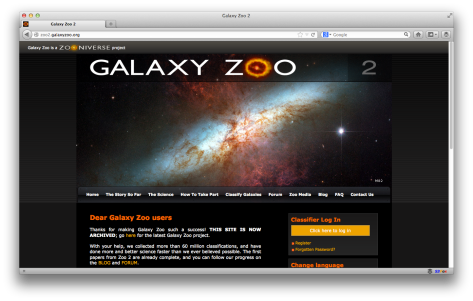 A reminder of what Galaxy Zoo 2 looked like!