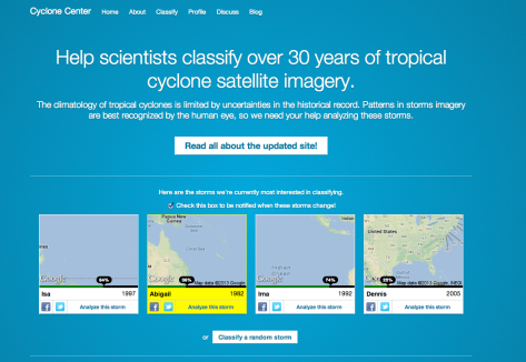 Cyclone Centre Homepage