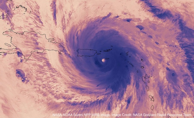 The Zooniverse responds to the Caribbean Hurricanes of 2017