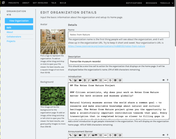 New Features | Zooniverse